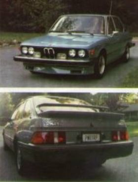 Classic lines of the 1976 530i. PWRTRP. Need we say more?